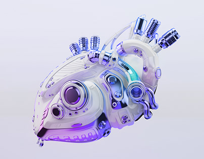 Ultra violet robotic heart
