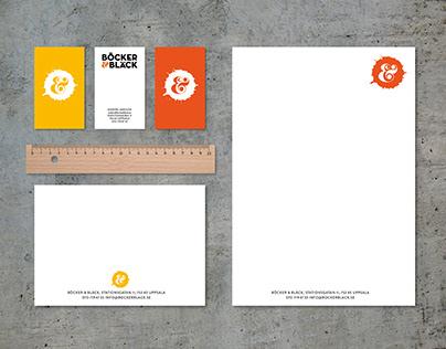 Logo och grafisk profil till bokhandel