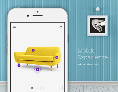 Furniture Store Mobile App Experience