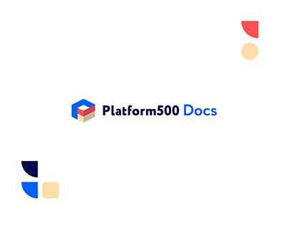 Platform500 Documentation Redesign