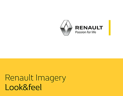 Renault Product Imagery Guidelines