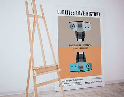 Ludlites photography exhibition poster