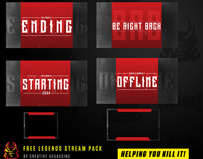 FREE Apex Legends Style Stream Pack for twitch & mixer