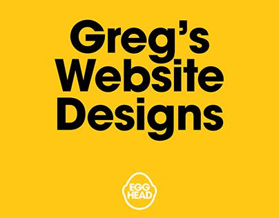 Greg's Web Designs