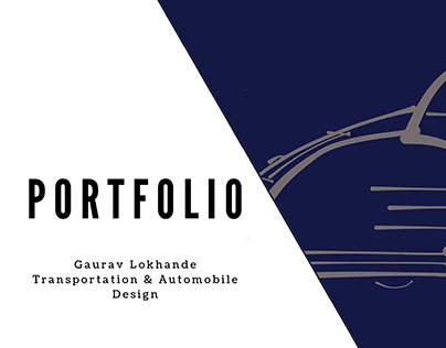 Transportation & Automobile Design Portfolio