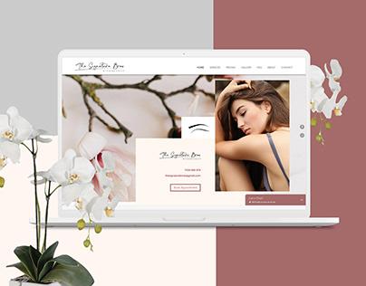 Beautician Clinic Website Design Ux Ui