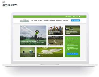 Destination Golf Site