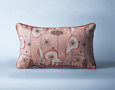Mid-century pattern design