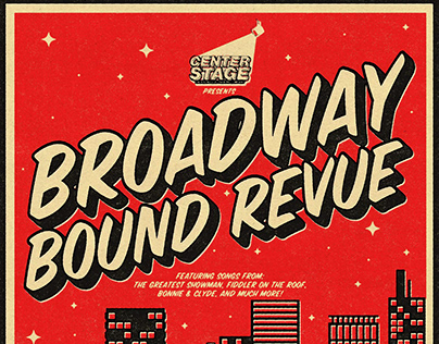 Broadway Bound Revue Poster