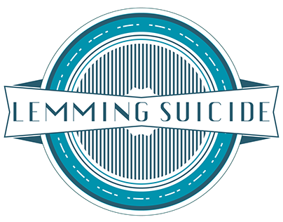 Lemming Suicide Badge