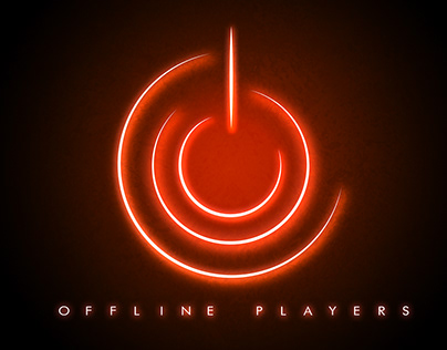 Offline Players logo project