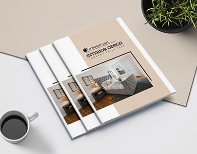 Interior Designer Brochure Template