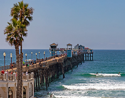 Oceanside, CA: Pier