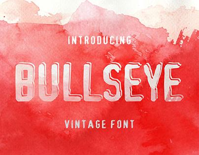 Bulls-eye - Display Font