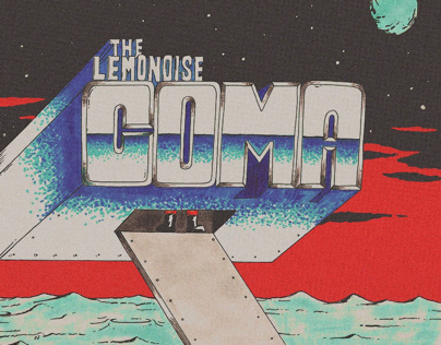 "Artwork for my band's single track called ""Coma"""
