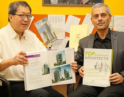 Ken Yeang at Ajman University