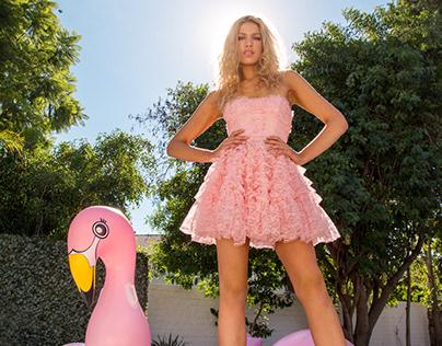 Editorial Shoot / Meredith at the Flamingo House
