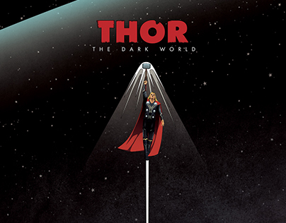 Thor : The Dark World Motion Poster