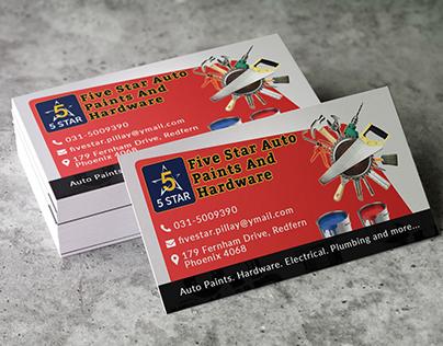 Auto_Parts Company Business Card