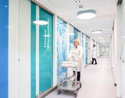 Raumgestaltung für die Bayer AG
