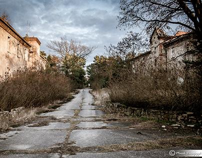 Pstrąże - an abandoned village