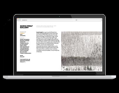 Gallery & Print Websites