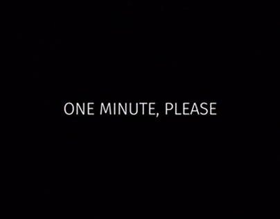 video // one minute, please.
