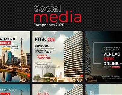 Campanha VITACON   Social Media