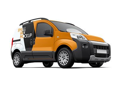 Fiat Fiorino Commercial Vehicle Mockup