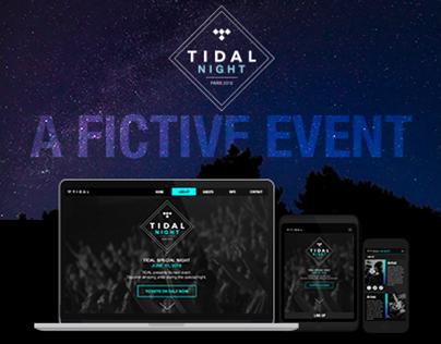 Tidal Night | Website