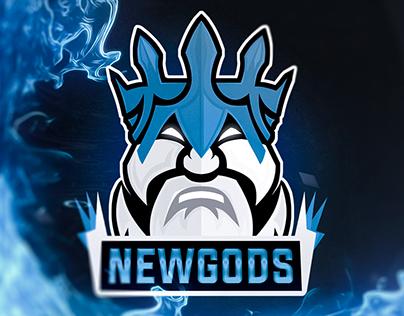"Esports team logo ""NewGods"""