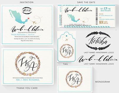Wedding Invitation Design | 2016