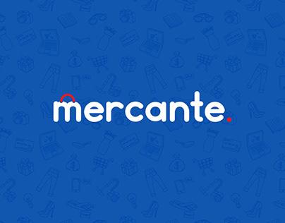 Mercante - Branding, UI design