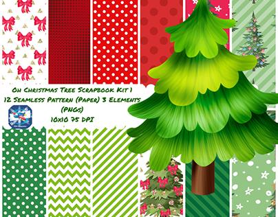 Oh Christmas Digital Scrapbook Kit