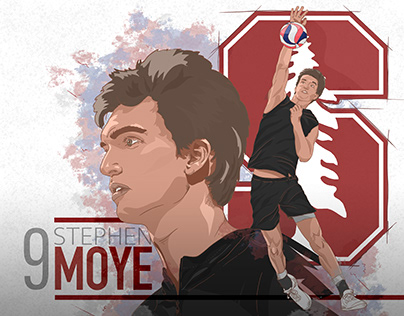 2020 Stanford Men's Volleyball Posters