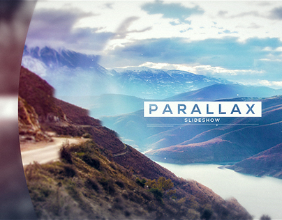 After Effects Template : Parallax Slideshow