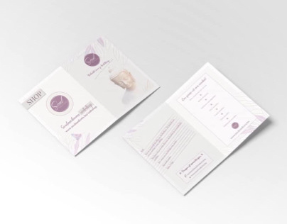 Thank you for your order design card