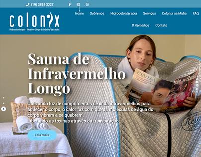 Site Responsivo para a Colonix