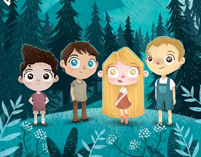 Misis'in Çocukları Book Illustrations