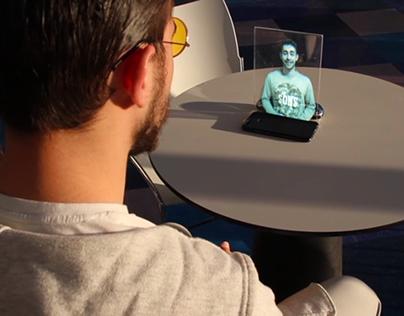 Video de aspecto futurista
