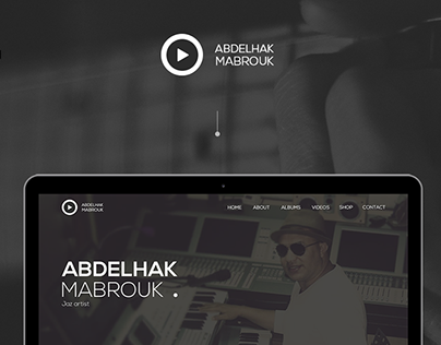 MahfWorks | Music Template - UI/UX