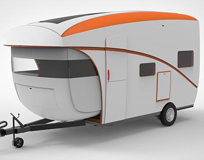 ONE-VAN Caravan I Concept Design I