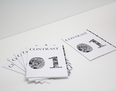 Contrast - Fashion magazine design