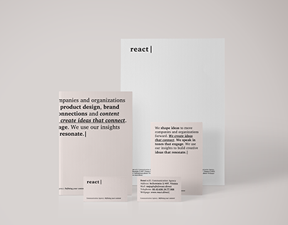 React Communication Agency