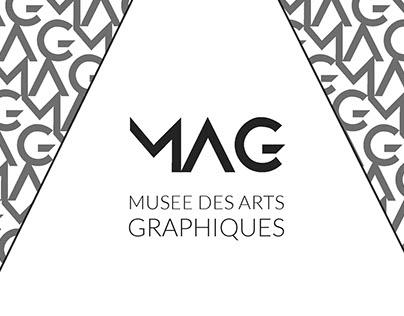 Charte Graphique MAG (Musée des Arts Graphiques)