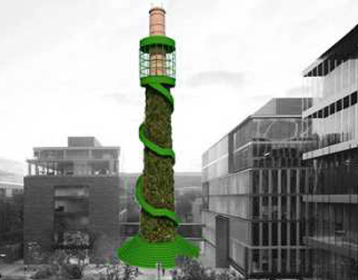"""Green Lighthouse"""