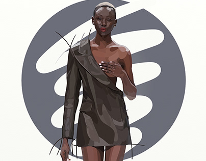 Fashion illustrations: catwalk (Fashion Weeks)