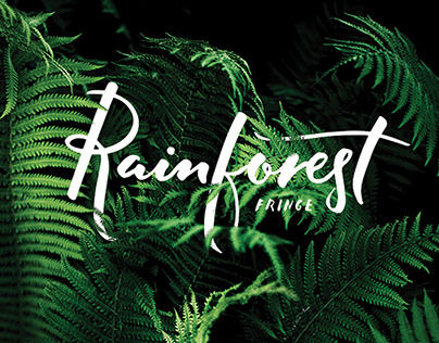 Rainforest Fringe Festival Brand Identity and Website
