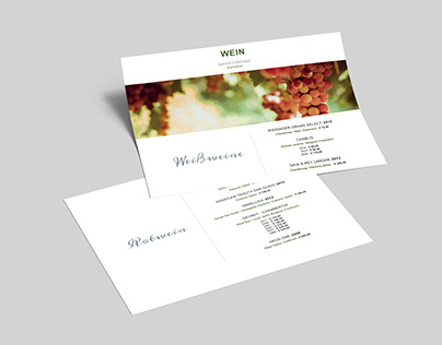Menus - Restaurant Cards