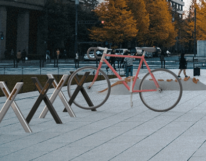 FoRest - Temporary Bike Rack
